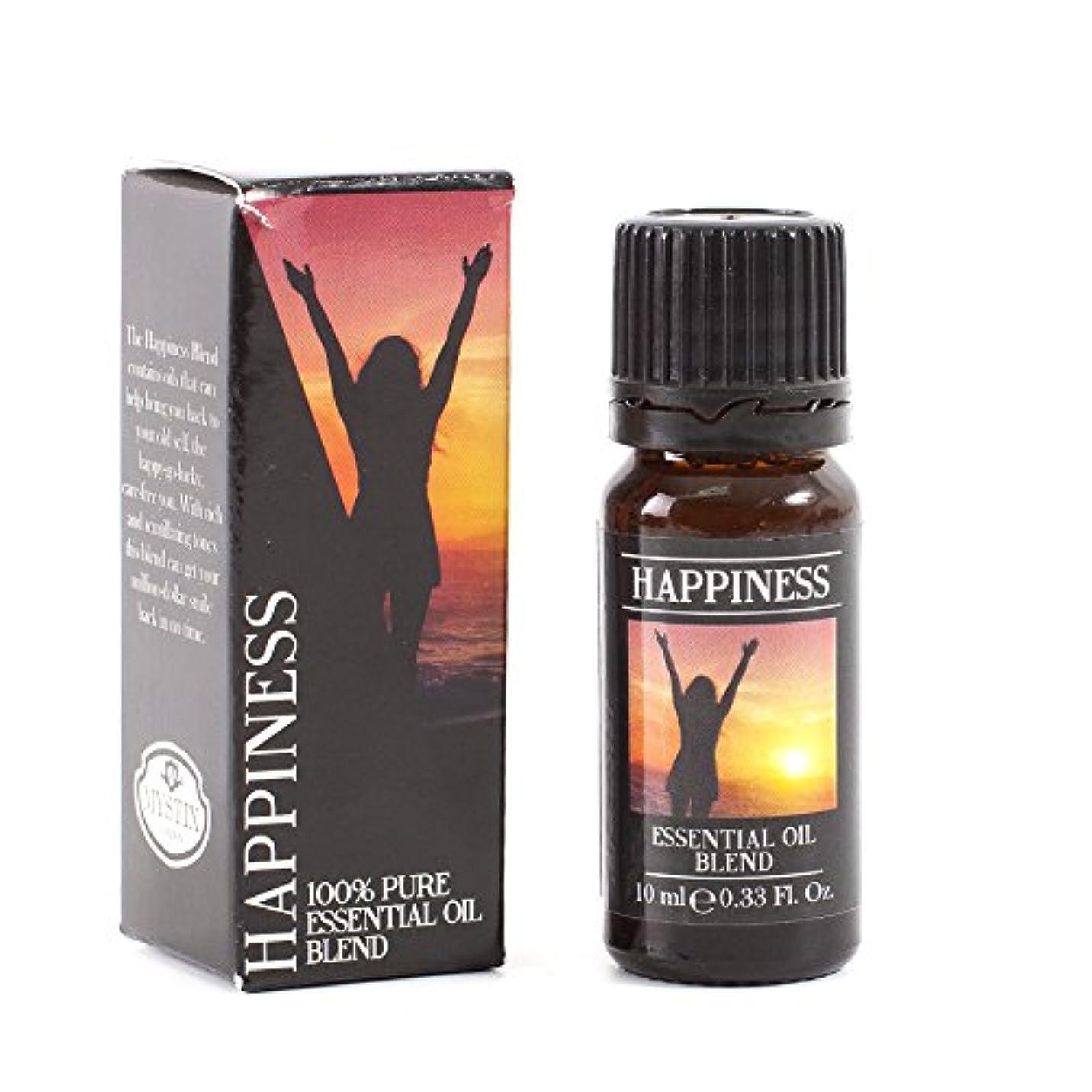 利得論争の的ラベMystix London | Happiness Essential Oil Blend - 10ml - 100% Pure