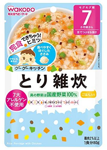 和光堂 グーグーキッチン とり雑炊×6袋