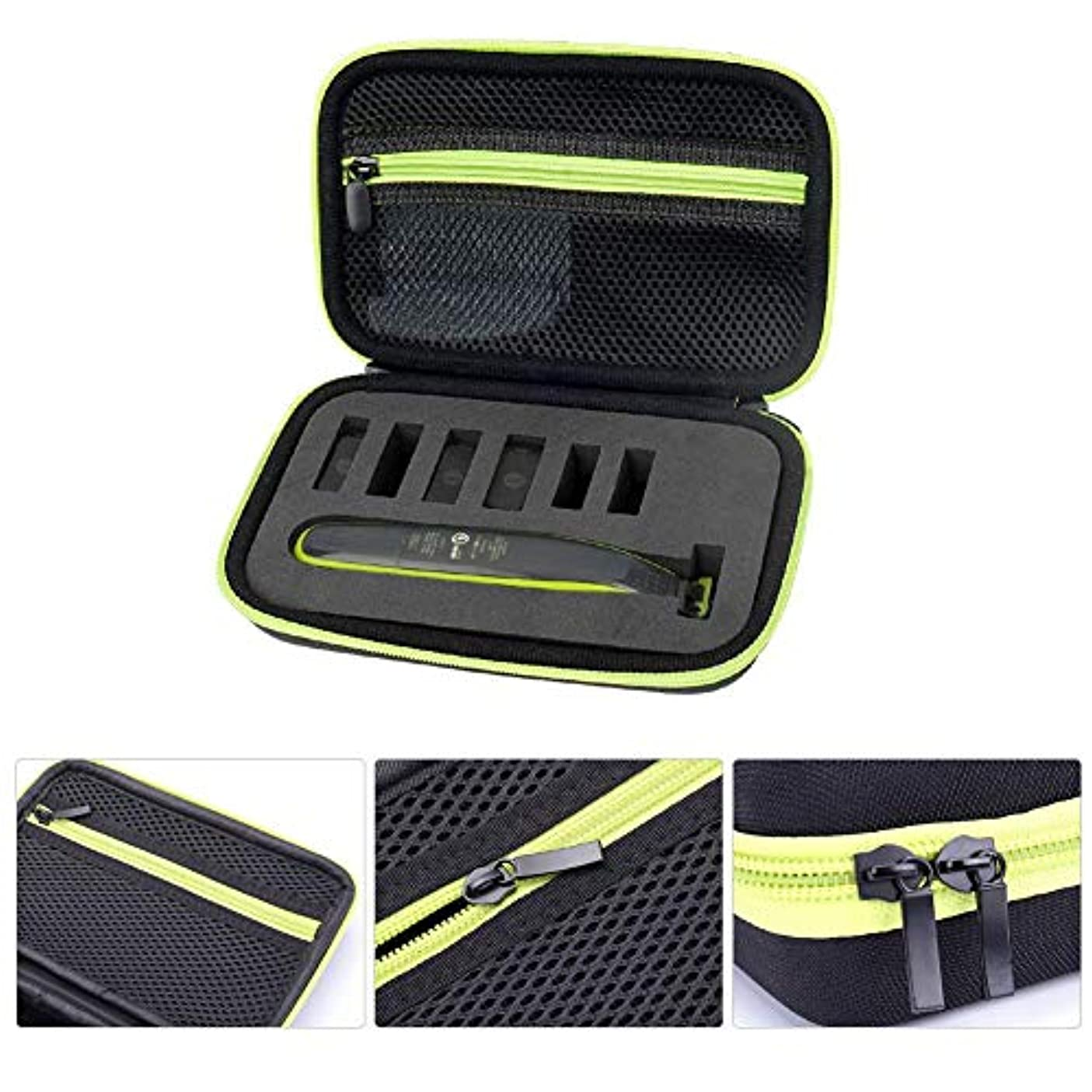 広告するシャープ伴うシェーバーキャリングケース、Philips OneBlade用耐衝撃性EVAシェーバートラベル収納バッグ