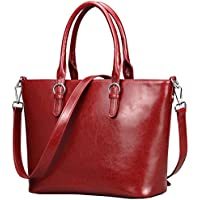 Heshe Womens Handbag Leather Shoulder Cross Body Tote Bags Satchel Handbags and Purses for ladies