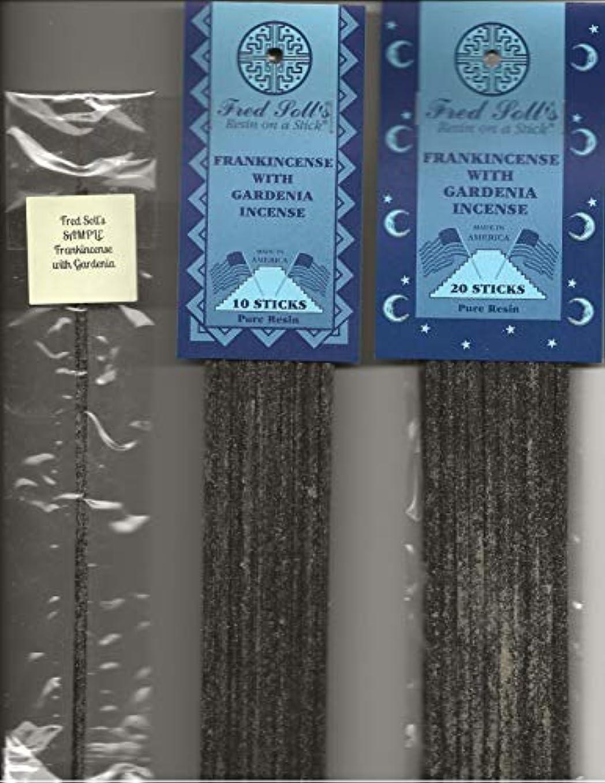 サスペンション医療のリーガンFRED SOLL'S 樹脂製スティック付きフランキンセンス クチナシのお香付き
