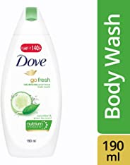 Dove Fresh Touch Cucumber and Green Tea Body Wash, 200ml