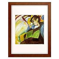 ワシリー・カンディンスキー Wassily Kandinsky (Vassily Kandinsky) 「Lady」 額装アート作品