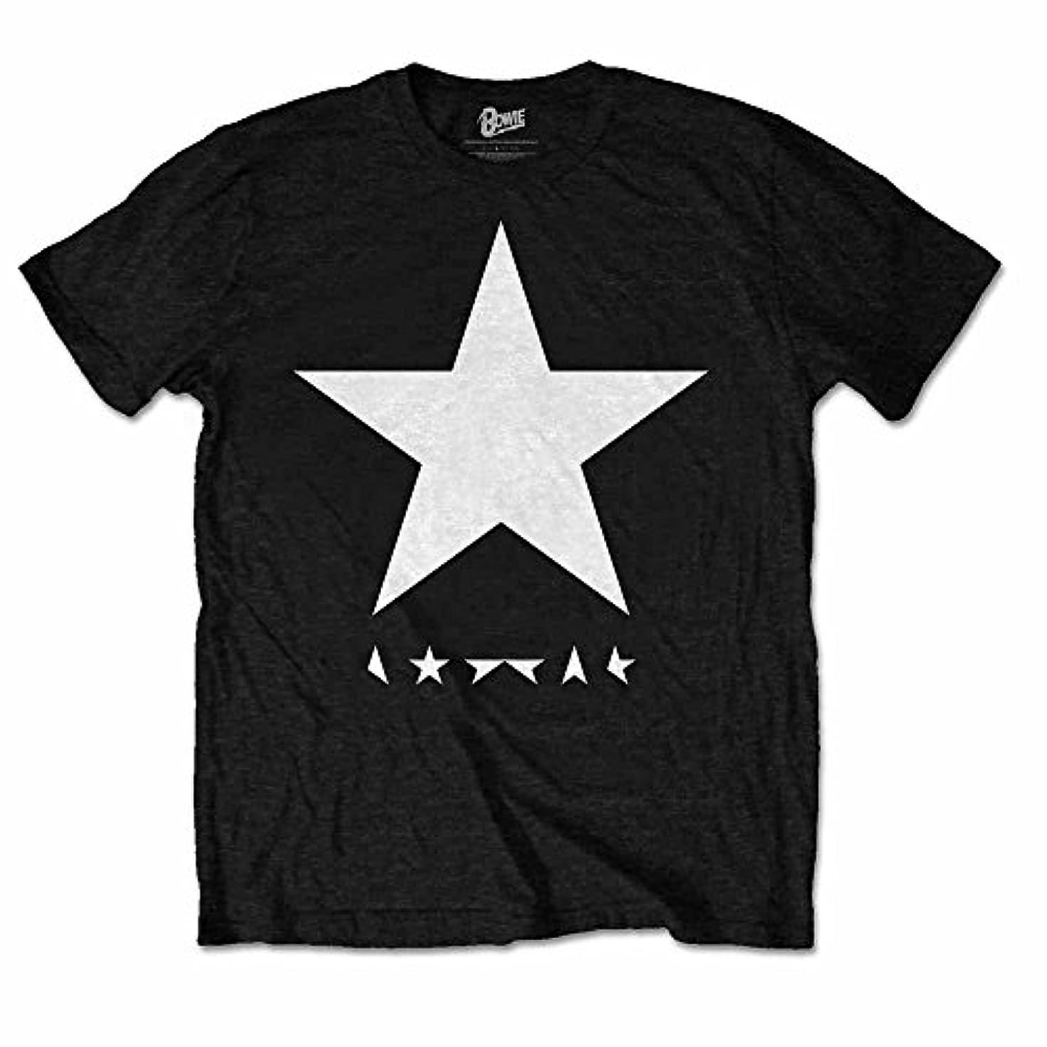 夏芝生重さDAVID BOWIE デヴィッド?ボウイ - Blackstar/Tシャツ/メンズ 【公式/オフィシャル】