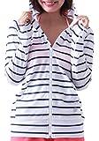 ICEPARDAL(アイスパーダル) 全20色柄 レディース ラッシュガード パーカー 長袖 UVカット UPF50 + S/M/L/XLサイズ 指穴つき