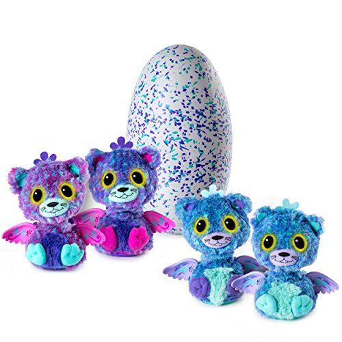Hatchimals Surprise - Peacat - Hatching Egg with Surprise Twin Interactive Hatchimal Creatures by Spin Master【平行輸入品】