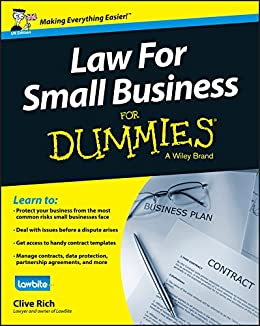 Law for Small Business For Dummies - UK by [Rich, Clive]