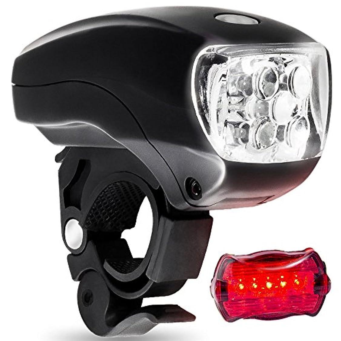 アーサーコナンドイルモードリン無駄にUSB充電式自転車ライト 自転車ライトUSB充電 - LED自転車ライト1ヘッドライトと1テールライト - ロード&マウンテンバイクライト - クイック解体スーパーライト自転車ライト - インストールが簡単 - 防水ロードバイクヘッドライト
