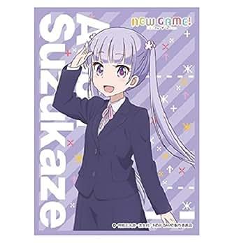 きゃらスリーブコレクション マットシリーズ   NEW GAME! 「涼風 青葉」 (No.MT263)