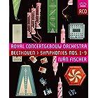 ベートーヴェン : 交響曲全集 (Beethoven : Symphonies Nos.1-9 / Royal Concertgebouw Orchestra   Ivan Fischer) [3Blu-ray] [輸入盤] [日本語帯・解説付]