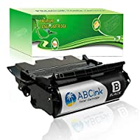 ABCink T634 大容量トナーカートリッジ Lexmark Optra T634 T634dtn T634dtnf T634n T634tn プリンター用 1パック (21,000ページ印刷可能 黒)