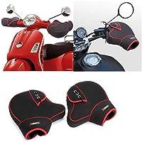 KEMIMOTO オートバイハンドルバーミトン 防水ミット スノーモービル ATVダートバイクモーターバーエンドグローブカバー
