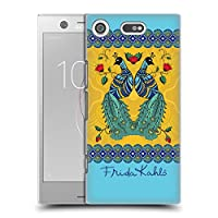 Official Frida Kahlo ペア ピーコック ハードバックケース Sony Xperia XZ1 Compact