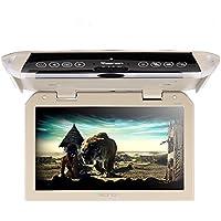 EONON フリップダウンモニター 大人気 10.1インチ 超薄型 デジタルスクリーン (ベージュイエロー) (L0121) L0121