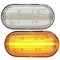 ファクトリーダイレクト LEDサイドマーカー ll-re-sma-cr06 クリアーレンズ LEDサイドマーカー Kangoo II カングー2(後期 2013.08以降 H25.08以降) RENAULT ルノー