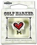 BEAUTY GOLFER スワロフスキー付ゴルフマーカー Golf Marker with Swarovski BG-20