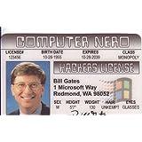 Bill Gates Fun Fake ID License by Signs 4 Fun [並行輸入品]