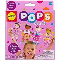 ALEX Toys POPS Craft 4 Paper Chain Dolls [並行輸入品]