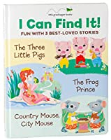 I Can Find It! Fun with 3 Best-Loved Stories: Three Little Pigs / Country Mouse, City Mouse / Frog Prince