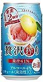 アサヒ 贅沢搾り グレープフルーツ 缶 350ml×24本