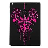 第1世代 iPad Pro 9.7 inch インチ 共通 スキンシール apple アップル アイパッド プロ A1673 A1674 A1675 タブレット tablet シール ステッカー ケース 保護シール 背面 人気 単品 おしゃれ クール シャンデリア ピンク 黒 ブラック 007676