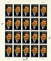 2005 RONALD REAGAN #3897 Pane of 20 x 37 cents US Postage Stamps by USPS