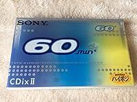 SONY ソニー ハイポジションカセットテープ C-60CDX2H 60分