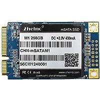 Zheino M1内蔵型 mSATA SSD 256GB 2D MLC採用(30 * 50mm) 3年保証 mSATAIII 6Gb/s mSATA ミニ ハードディスク(Not TLC Not 3D NAND Flash)