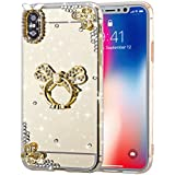 Huawei Y5 II Case - Phoebe Slim Case [ ポーチ ] with 耐久保護ケース Drop Protection for Huawei Y5 II (Crystal Butterfly)