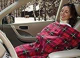 カーコージィ 2 CAR COZY 2 (タータンチェック 赤) 車内用電気ブランケット 電気毛布 自動温度調節機能付き カーコージー2 カーコージィ2 (タータンチェック 赤)