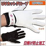 【C4J】NEWサーフグローブ UVカット UPF50+ 日焼け防止 滑り止めグリップ付き ボディボードグローブ L ブラック