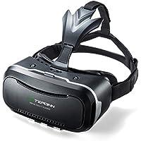 Tepoinn VRゴーグル 3D 4.7-6.0インチiPhoneとAndroidのスマホ対応 超軽量VRメガネ3D動画 映画 ビデオ ゲームに適用