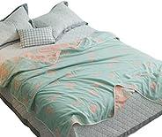 Skazi 六重纱毯子 纯棉 不易沾灰 蓬松柔软 防过敏抗螨 亲和肌肤纱布毯