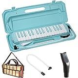 KC 鍵盤ハーモニカ (メロディーピアノ) ソラ P3001-32K/SORA + 専用バッグ[Multi Stripe] + 予備ホース + 予備吹き口 セット