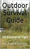 アウトドア用品 Outdoor Survival Guide: 58 Essential Tips (English Edition)