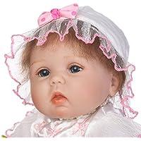 SanyDoll Rebornベビー人形ソフトSilicone 18インチ45 cm磁気Lovely Lifelike Cute Lovely Baby b0763lhyhr