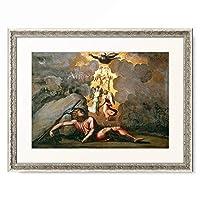 ラファエロ・サンティ Raffaello Santi (Raffaello Sanzio) 「Jacob's Dream of the Ladder to Heaven」 額装アート作品