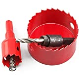 バイメタルホールソー 150 mm 単品 電動 ドリル 穴あけ 掘削 穿孔