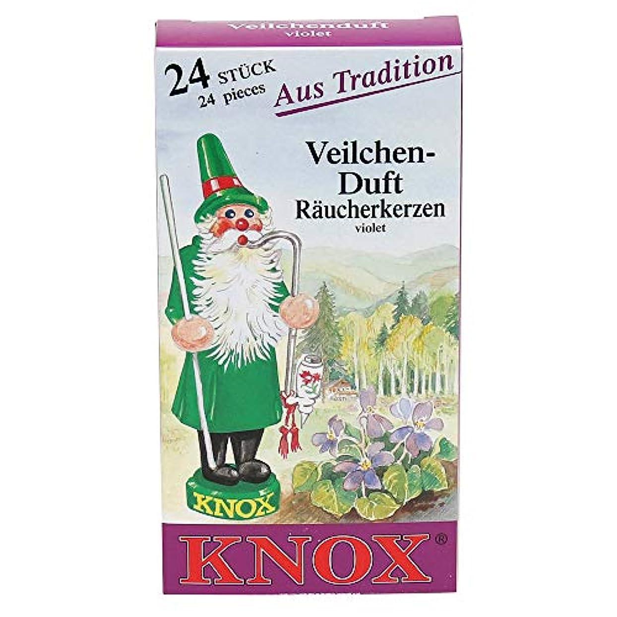 中散歩ボリュームKnoxバイオレット香りGerman Incense Conesドイツ製forクリスマスSmokers