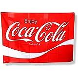 コカ・コーラブランド ファブリックサイン W130×H90cm PJ-FS01 COCA-COLA 旗 フラッグ タペス…