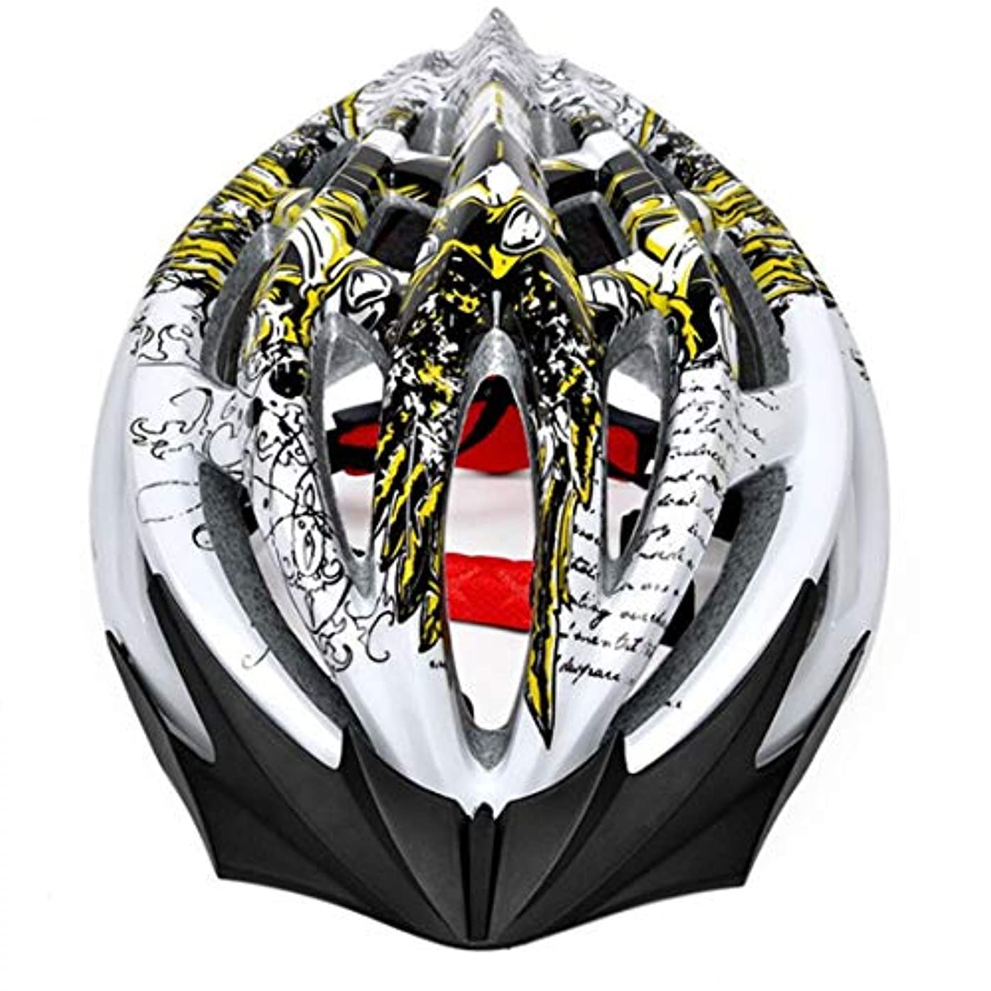 アンドリューハリディ視線アグネスグレイCAFUTY 自転車用ヘルメット、屋外用サイクリング愛好家に最適な自転車用安全ヘルメット。 (Color : イエロー, サイズ : One size)