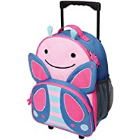 Skip Hop Zoo Kid Rolling Luggage, Blossom Butterfly