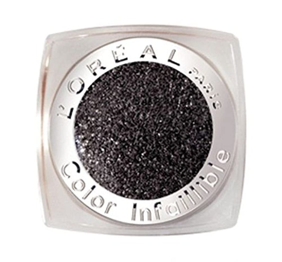重大徒歩でピストルL'OREAL COLOR INFAILLIBLE EYE SHADOW - 014 ETERNAL BLACK