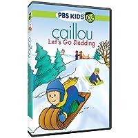 Caillou: Let's Go Sledding [DVD] [Import]