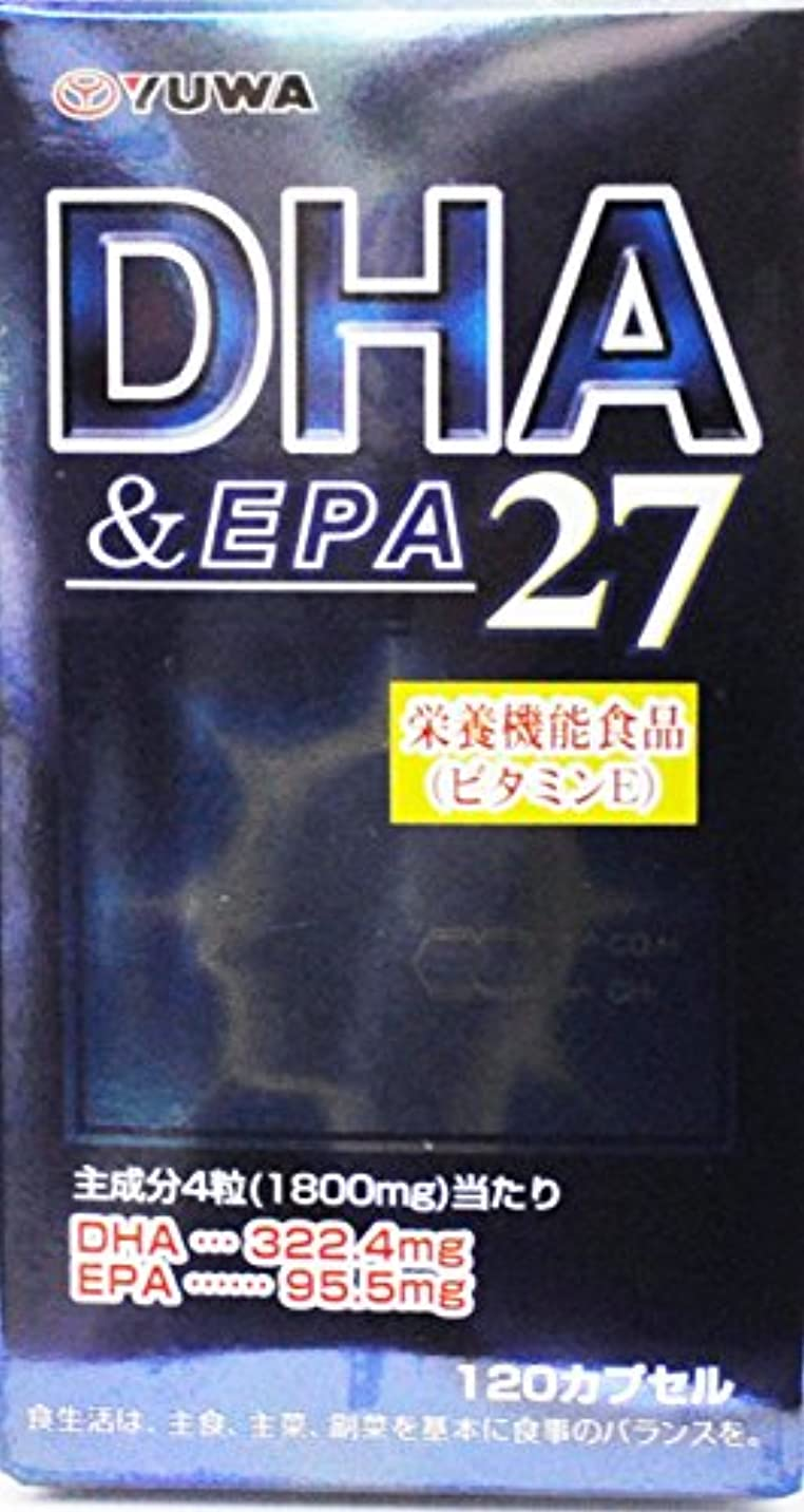 不注意スポット破産DHA&EPA27 120カプセル