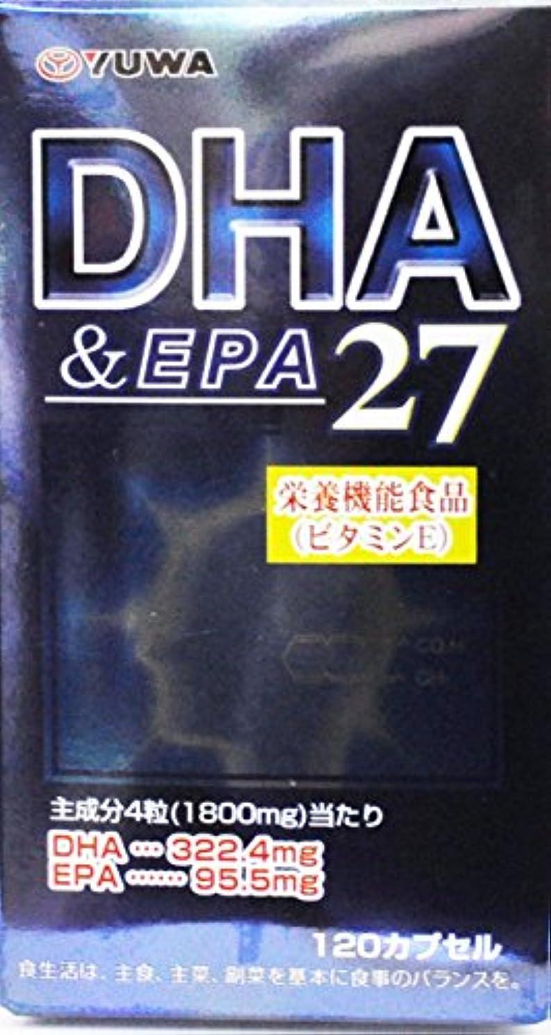 導体頑固な枠DHA&EPA27 120カプセル