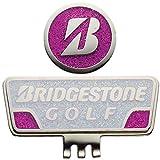 BRIDGESTONE(ブリヂストン) キャップマーカー GAG401 WP(白/ピンク)