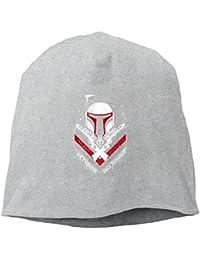 【Dera Princess】ユニセックス ニット帽 No Threats, Only Promisesロゴ コットン ニットキャップ 帽子 オールシーズン 被れる