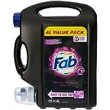 Fab Laundry Liquid Sublime Velvet, 4000ml