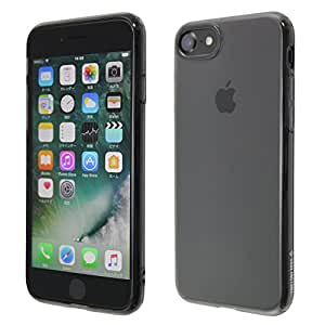 CASE FACTORY iPhone7 TPUソフトケース Protection fix shell for iPhone7 クリアブラック